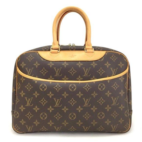 Authentic Louis Vuitton Monogram Deauville Bag